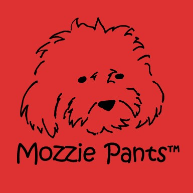 Mozzie Pants, Pants for dogs and dog suspenders!